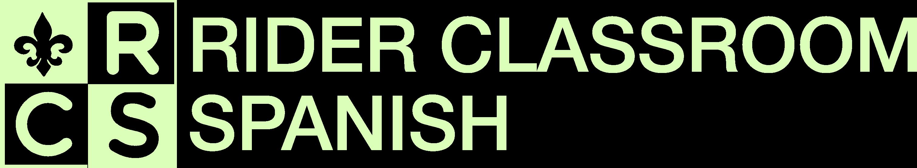 Rider Classroom Spanish